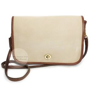 Vintage Coach Bag Convertible Clutch 9635 Twill